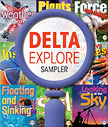 Cover to Delta Explore Sampler