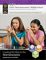 Cover to Middle School Digital Brochure