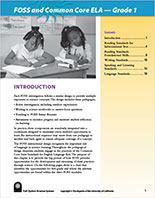Page 1 of Grade 1 CCSS-ELA document