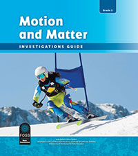 Cover to Motion and Matter Investigation 3