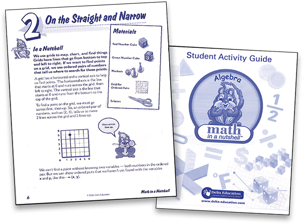 Cover and page from Student Activity Guide