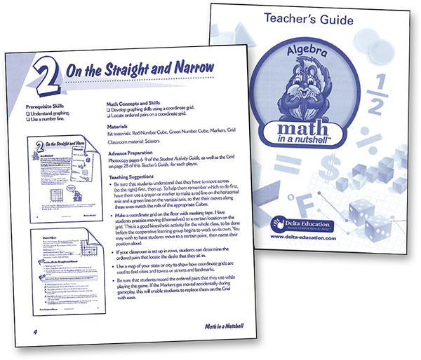 Cover and page from Teacher's Guide