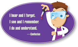I hear and I forget. I see and I remember. I do and understand. --Confucius