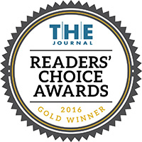 THE Journal Readers' Choice Awards 2016 Gold Winner