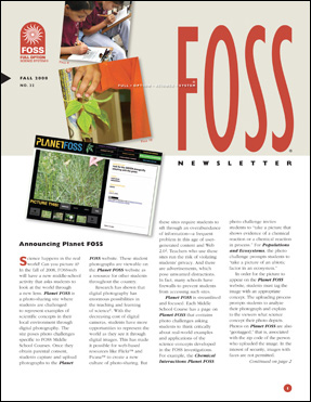 FOSS Newsletter No. 32 cover