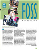 Page 1 of the Spring 2016 FOSS Newsletter