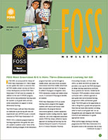 Cover to FOSS Newsletter