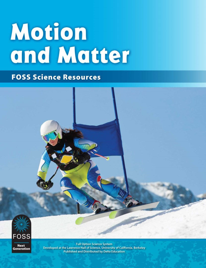 FOSS Next Generation Motion and Matter Science Resources Book Cover