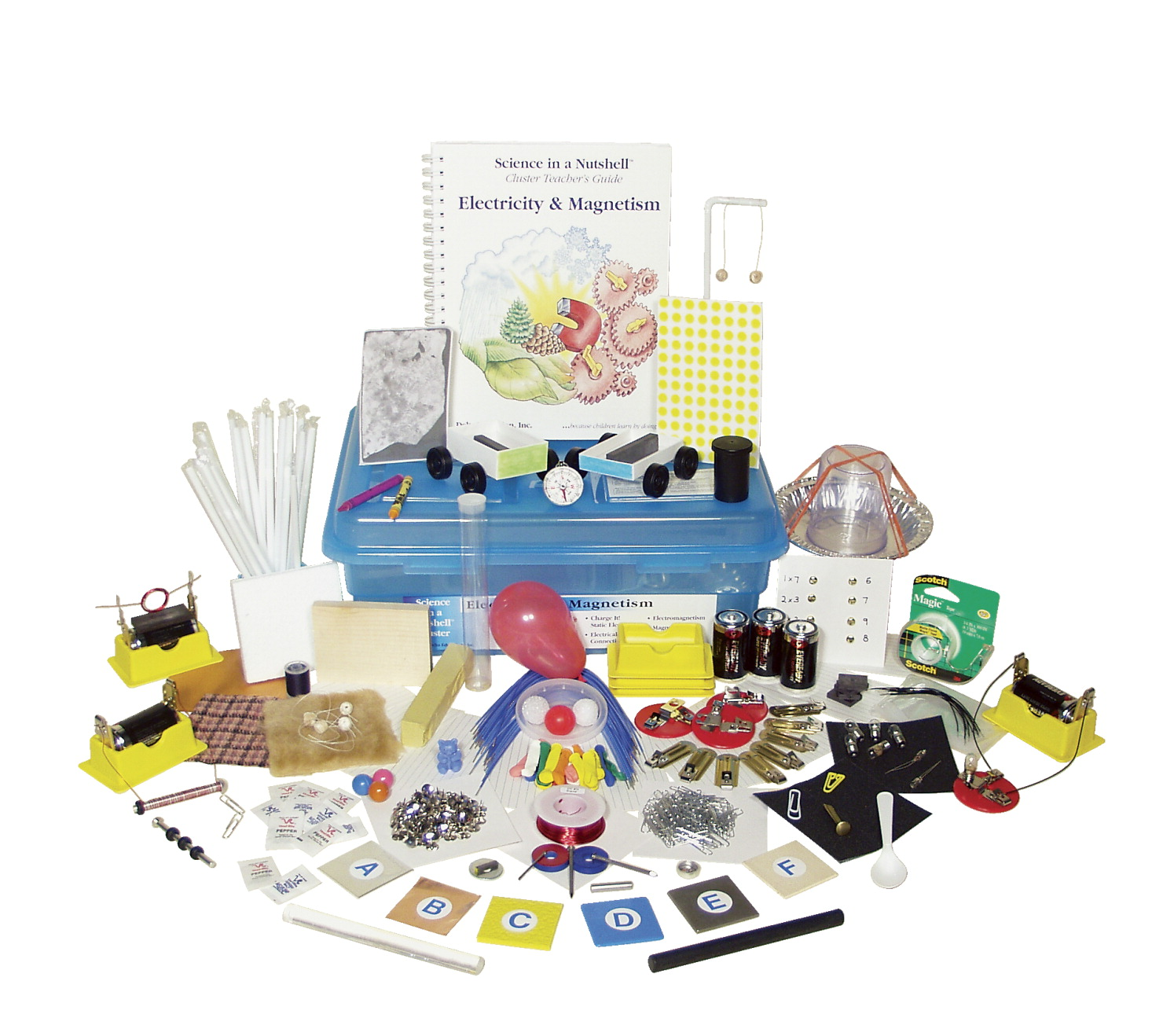 Science In A Nutshell Delta Education Electric Circuits Magnetism And Electricity Pinterest Cluster