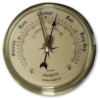 Earth Science Weather Barometer