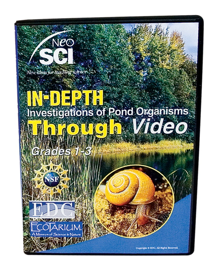 Neo/SCI CD-ROM, Investigating Pond Organisms- Grades 1 to 3