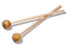 Physical Science Sound, Color & Light Wooden Mallets