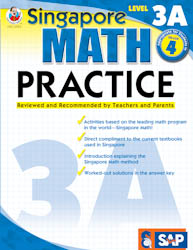 Singapore Math Practice: Workbook 3A