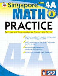 Singapore Math Practice: Workbook 4A
