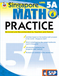 Singapore Math Practice: Workbook 5A
