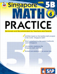 Singapore Math Practice: Workbook 5B