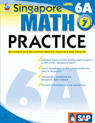 Singapore Math Practice: Workbook 6A