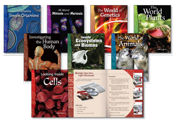 All About Life Science Library(8 books, one of each title)