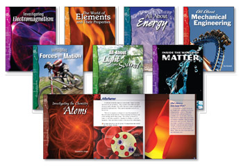 All About Physical Science Library(8 books, one of each title)