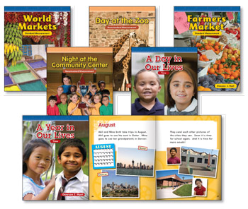 Grades 1-2 Measurement Library (6 books, one of each title)