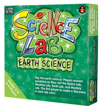 Learning Well Science Lab Games: Earth Science (Grades 4-5)