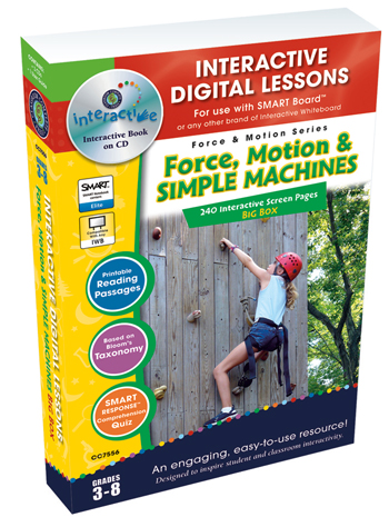 Force, Motion and Simple Machines Big Box CD-ROM