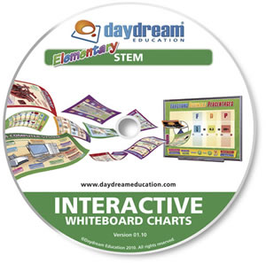 Elementary STEM Pack : Interactive Whiteboard Charts, Site License