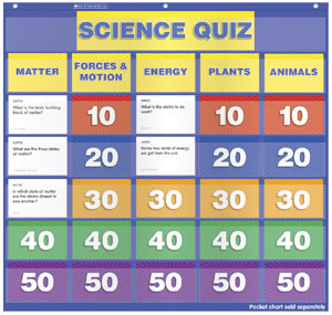 Science Class Quiz Cards (Set of 88)
