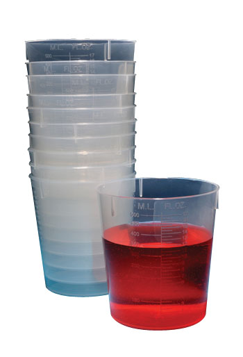 Stackable Beakers, 120ml (Set of 25)