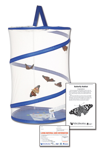 Delta Designed Butterfly Habitat With Larvae Coupon