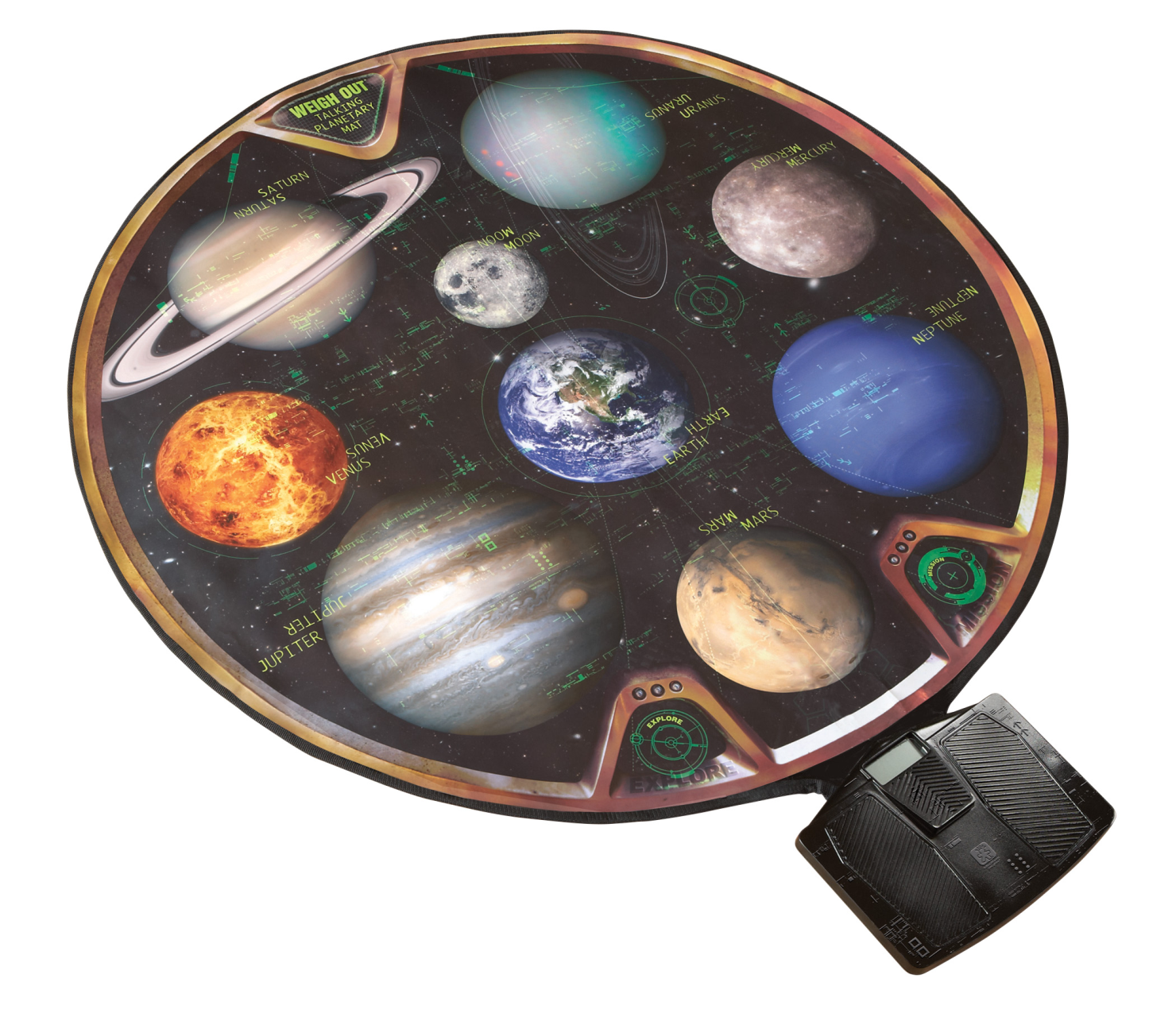 Educational Insights GeoSafari Talking Planetary Mat