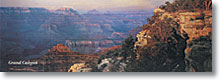 Earth Science Geography & Landforms Grand Canyon Poster