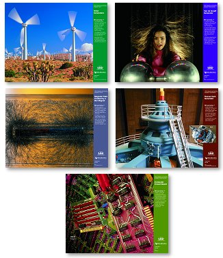 FOSS posters, Magnetism and Electricity, set of 5