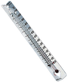 Earth Science Weather Celsius Alcohol Thermometer