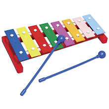 Physical Science Sound, Color & Light Xylophone with Mallets