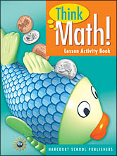 Core Curriculum Programs > Think Math! > Think Math! Grade 1 Lesson Activity Books