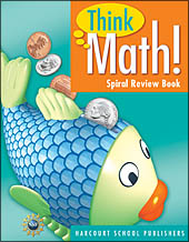 Core Curriculum Programs > Think Math! > Think Math! Grade 1 Spiral Review Books
