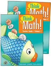 Core Curriculum Programs > Think Math! > Think Math! Grade 1 Teachers Guides Collection
